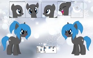 Lunar Dream's Official Reference Sheet by Starlollipop