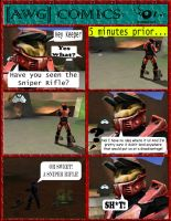 AWG Comics Issue 1 by GameKeeperX