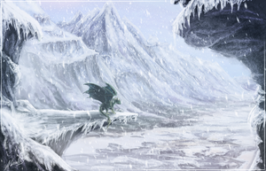 Winter In Lannerusa - Speed Art - 2.5hrs by IceDragonhawk