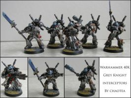 Grey Knight interceptors by chaotea