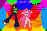 HAPPY BIRTHDAY TINNY ! by JANZULIZA
