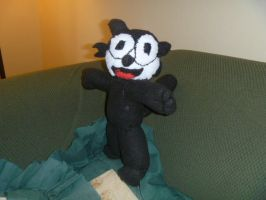 Felix the cat doll by Sabretooth-Fox