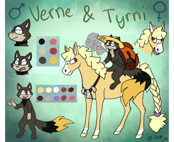 Verne and Tyrni by sepi32014