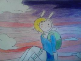 Fionna: Colored by WonderlandGhost
