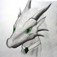 Crominum Vaikarin Dragon sketch by Nightfury-Treann