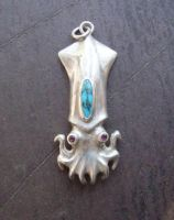 squid pendant by morpho2012