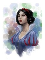 Snow White by Erika-Xero
