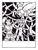Coloring page- The Widow by Sea-Salt