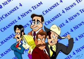 Channel 4 News Team by MiketheMike
