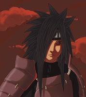 Uchiha Madara by Darkness-Creator