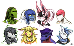 StM: a buncha morties by ChibiChum