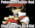 Red Is Chuck Norris by m00nlight101