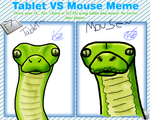 Tablet vs Mouse by itachi1235