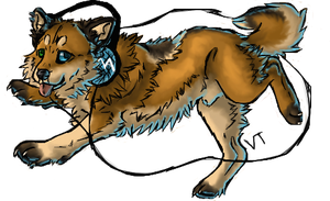 Puppy!Milow by Electrical--Volttail