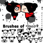 Pucca Brushes by nataschamyeditions