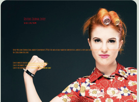 Hayley Williams Journal Skin, 1 by sunnybunny1199