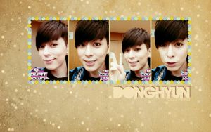 Donghyun's Selca Wallpaper by KpopGurl