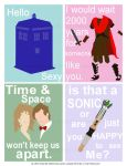 Dr Who Valentines Cards by jmarchitto