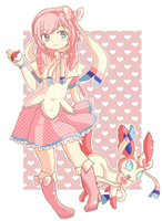 Sylveon by Haruliina