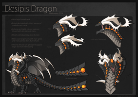 Dragon Cave: Desipis Dragon by birdzgoboom