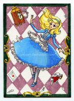 Alice ACEO by JPepArt