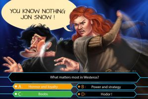 You know nothing Jon Snow ! by toniet1234
