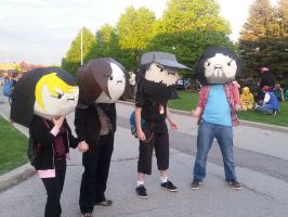 Game Grumps Cosplayers: Anime North 2014 by m17barrett