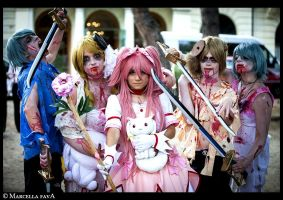 Madoka Magica Cosplay (Zombie)-Rise Of The Undead by DakunCosplay