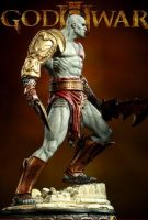 Kratos Statue by loqura