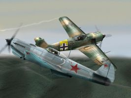 Yak9 by QuentinR