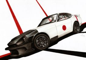 Datsun 280Z - Divine Wind by Medvezh