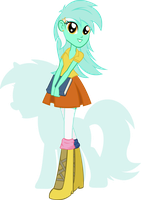 Equestria Girls - Lyra Heartstring by Rariedash