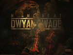 DWYANE WADE WALLPAPER by RafaelVicenteDesigns
