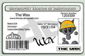 DeviantArt License by TheWax