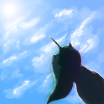 Reflection upon the sky by NimbleNote