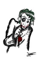 Even Joker lisents to his heart by JadeTheAngle777