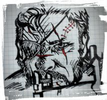 Punished Snake by miicho
