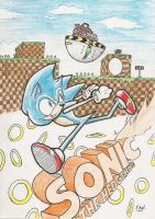 Sonic The Hedgehog by MrARTism