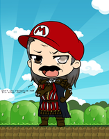 It's a-me Mario! by Mibu-no-ookami