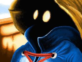 vivi final fantasy IX MS paint by NeviNakuta