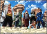 The 5 kages by diabolumberto