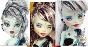 Monster High Frankie Stein by RogueLively