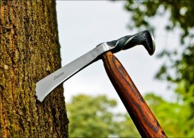 Railroad Spike Tomahawk by Logan-Pearce