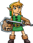 Link (Link to the Past) by Hologramzx