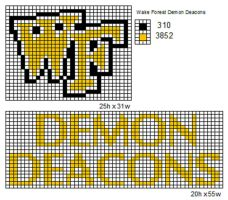 Wake Forest Demon Deacons by cdbvulpix