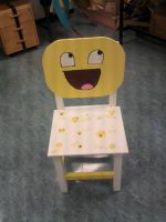 Awesome Face Chair by 1xbluebellx1
