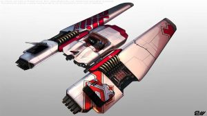 Jet Car, view 2 by attackvector