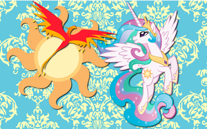 Princess Celestia wallpaper 8 by AliceHumanSacrifice0