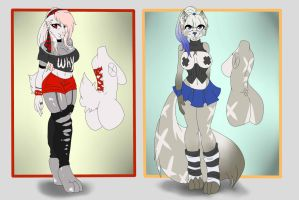 Ocs anthro for adopt Closed by Fur-What-Loo
