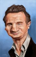 LIAM NEESON by JaumeCullell